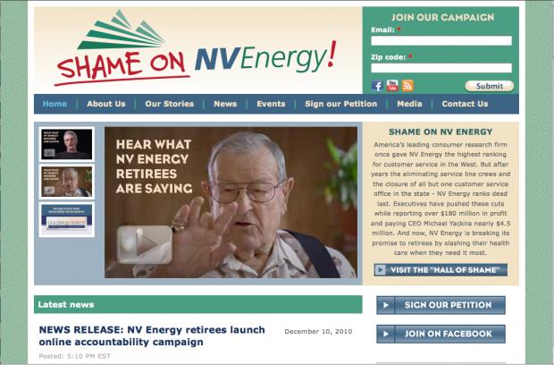 Shame on Nevada Energy